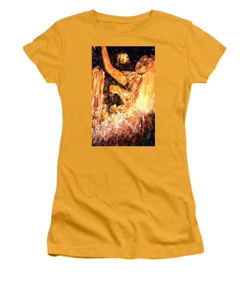 Earthy Goddess Women's T-Shirt (Athletic Fit)