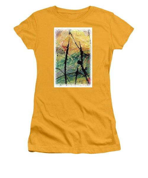 Ecstasy II Women's T-Shirt (Junior Cut) by Angela L Walker