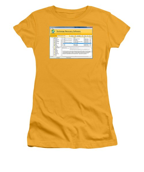 Edb To Ps T Software  Women's T-Shirt (Athletic Fit)