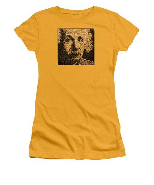 Einstein Women's T-Shirt (Athletic Fit)