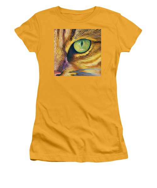 El Gato Women's T-Shirt (Athletic Fit)