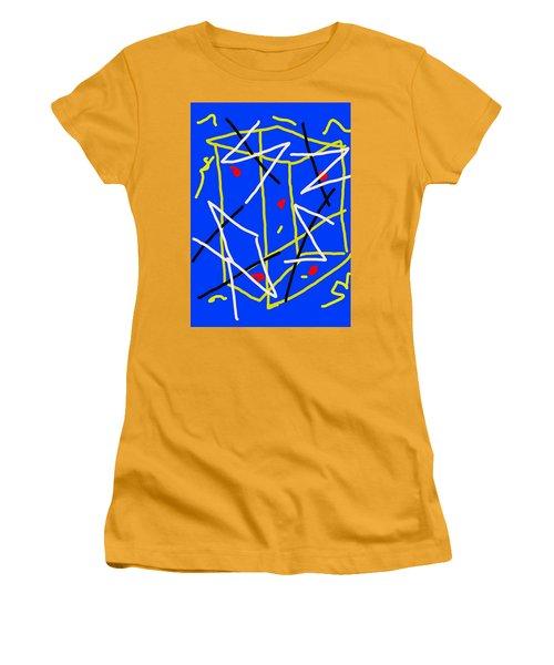 Electric Midnight Women's T-Shirt (Junior Cut) by Paulo Guimaraes