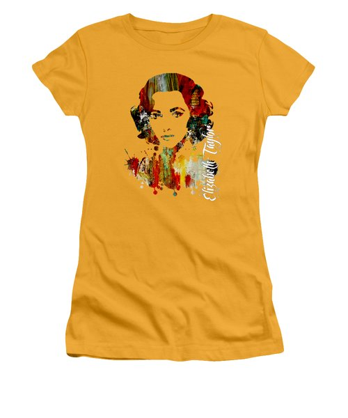 Elizabeth Taylor Collection Women's T-Shirt (Athletic Fit)