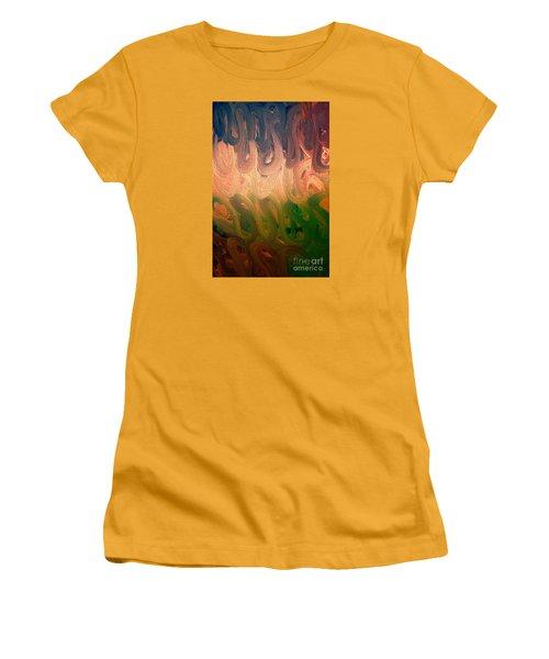 Emotion Women's T-Shirt (Junior Cut) by Roberta Byram