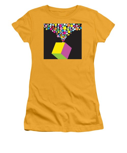 Eruption Women's T-Shirt (Junior Cut) by Now