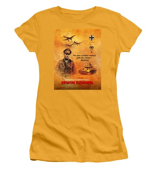 Erwin Rommel Tribute Women's T-Shirt (Athletic Fit)