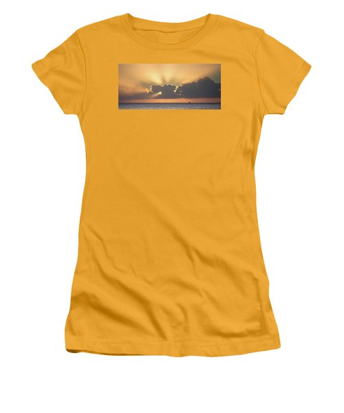Evening Fishing Women's T-Shirt (Athletic Fit)