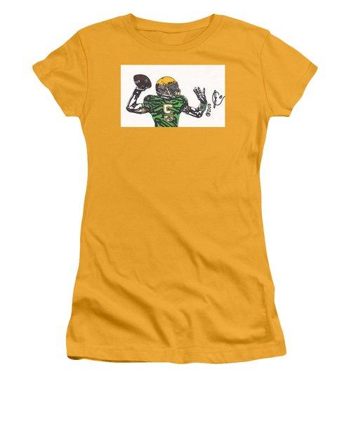 Everett Golson 1 Women's T-Shirt (Junior Cut) by Jeremiah Colley