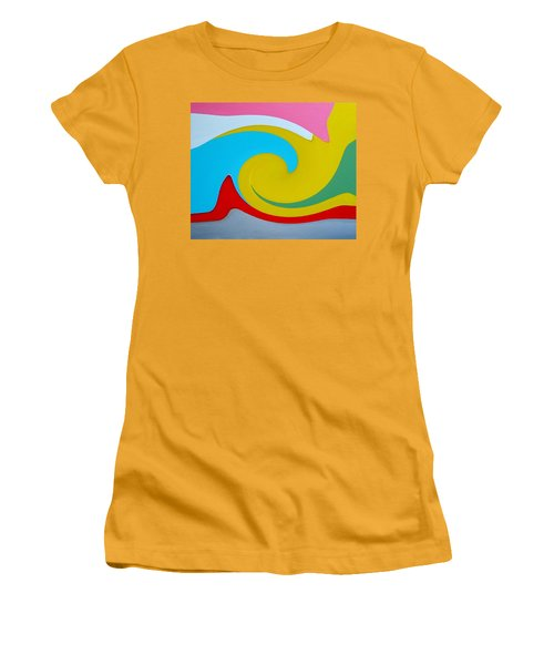 Everybody Has A Cousin In Miami Two Women's T-Shirt (Athletic Fit)