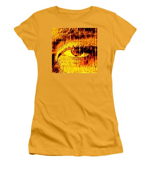 Face The Fire Women's T-Shirt (Athletic Fit)