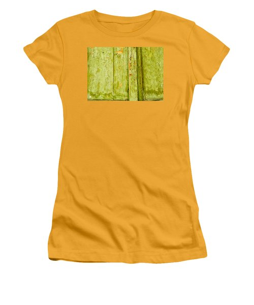 Women's T-Shirt (Junior Cut) featuring the photograph Fading Old Paint by John Williams