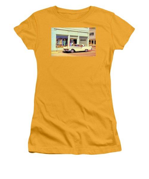 Fairlane 500 1957 Women's T-Shirt (Junior Cut) by John Schneider