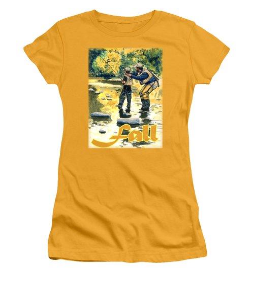 Fall Shirt Women's T-Shirt (Athletic Fit)