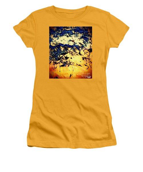 Falling Sky Women's T-Shirt (Athletic Fit)