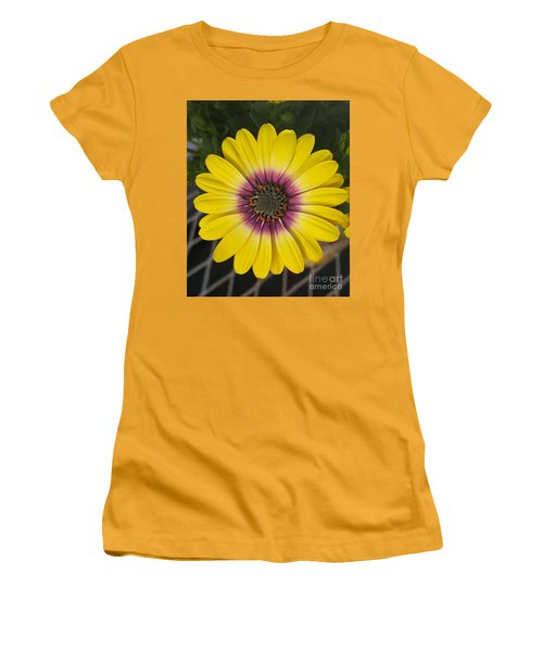 Fascinating Yellow Flower Women's T-Shirt (Junior Cut) by Jasna Gopic