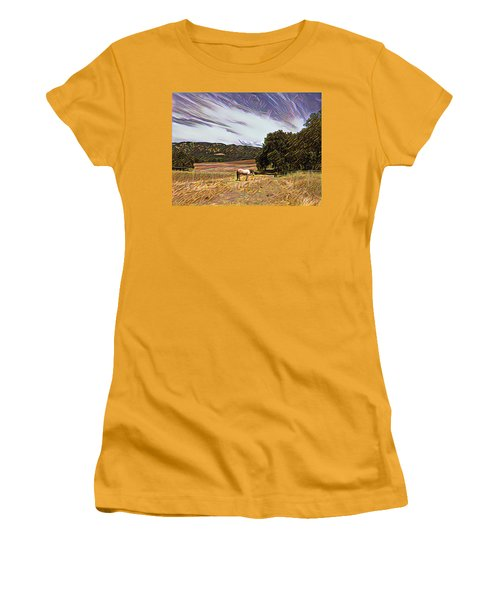 Fat Camp Grazing Women's T-Shirt (Athletic Fit)