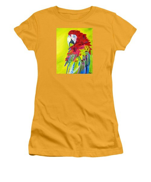 Fiery Feathers Women's T-Shirt (Athletic Fit)