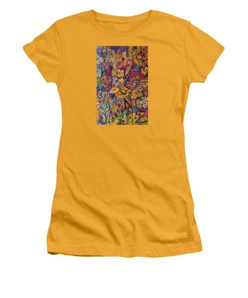 Find My A Women's T-Shirt (Junior Cut) by Claudia Cole Meek