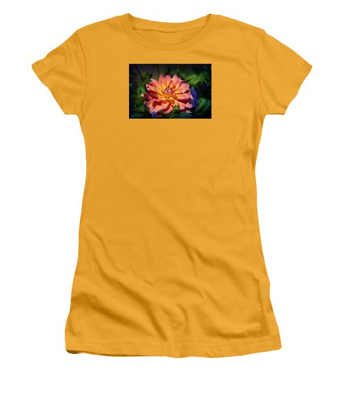 Flames Women's T-Shirt (Junior Cut) by Milena Ilieva