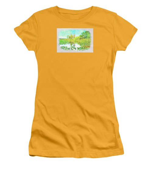 Florida Wetlands Women's T-Shirt (Athletic Fit)