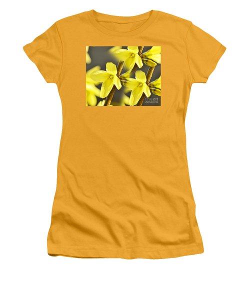 Forsythia Three Women's T-Shirt (Athletic Fit)