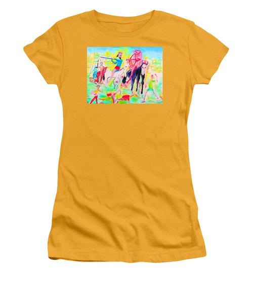 Four Horsemen Women's T-Shirt (Athletic Fit)