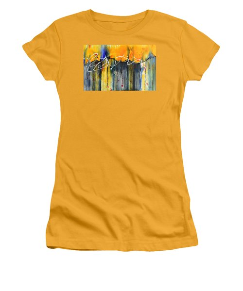Fueled By The Wind Women's T-Shirt (Junior Cut) by Nancy Jolley