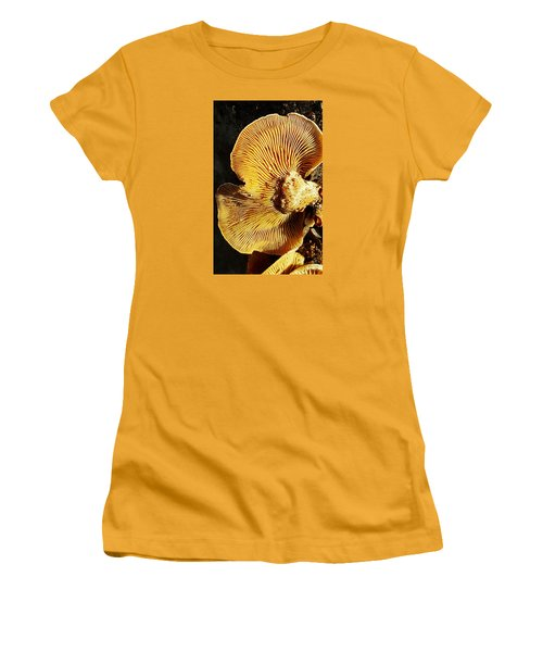 Fungus Women's T-Shirt (Junior Cut) by Bruce Carpenter