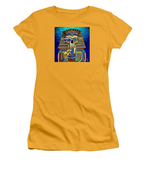 Funky Bone Pharaoh Women's T-Shirt (Athletic Fit)