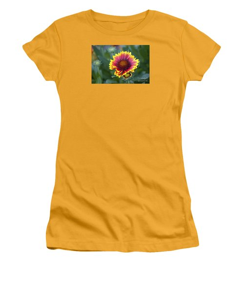 Gallardia 20120615_183b Women's T-Shirt (Junior Cut) by Tina Hopkins