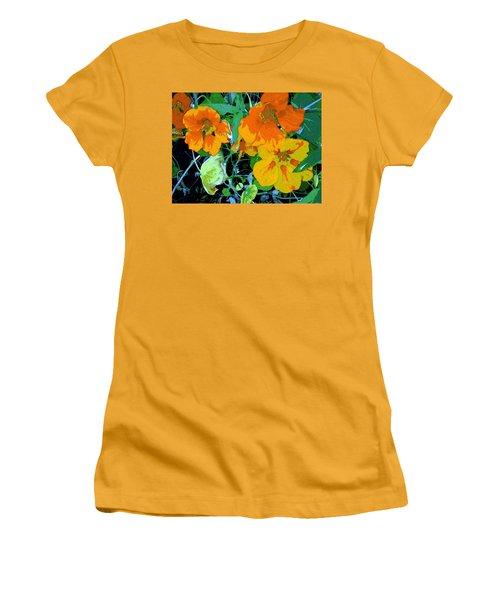 Garden Flavor Women's T-Shirt (Junior Cut) by Winsome Gunning