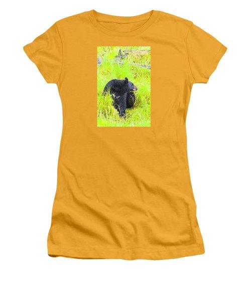 Getting Ready Women's T-Shirt (Junior Cut) by Harold Piskiel