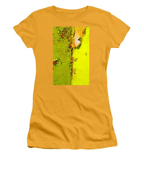 Women's T-Shirt (Junior Cut) featuring the photograph Going Green by Skip Hunt