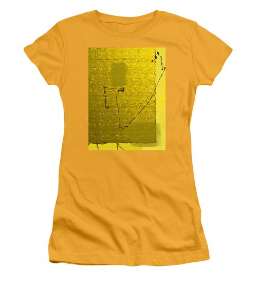 Gold Parchment Women's T-Shirt (Junior Cut)