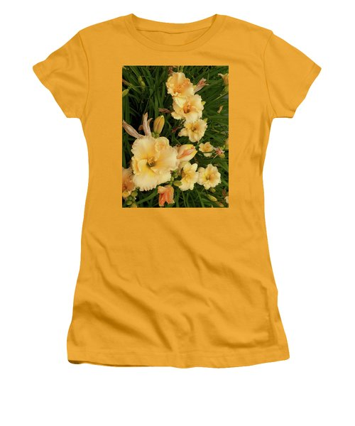 Golden Day Lilies Women's T-Shirt (Athletic Fit)