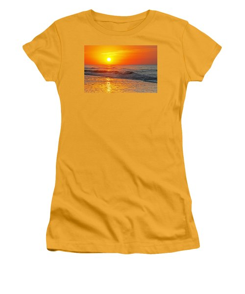 Golden Glory Women's T-Shirt (Junior Cut) by Kay Lovingood