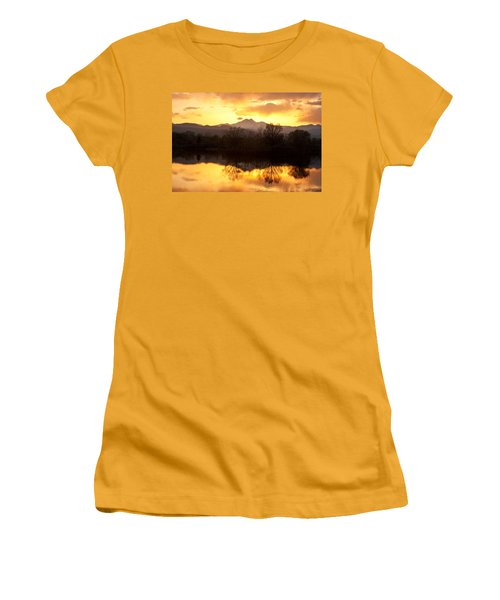 Golden Ponds Longmont Colorado Women's T-Shirt (Junior Cut) by James BO  Insogna