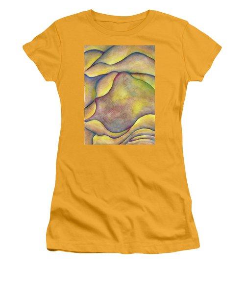 Golden Rose Women's T-Shirt (Junior Cut) by Versel Reid