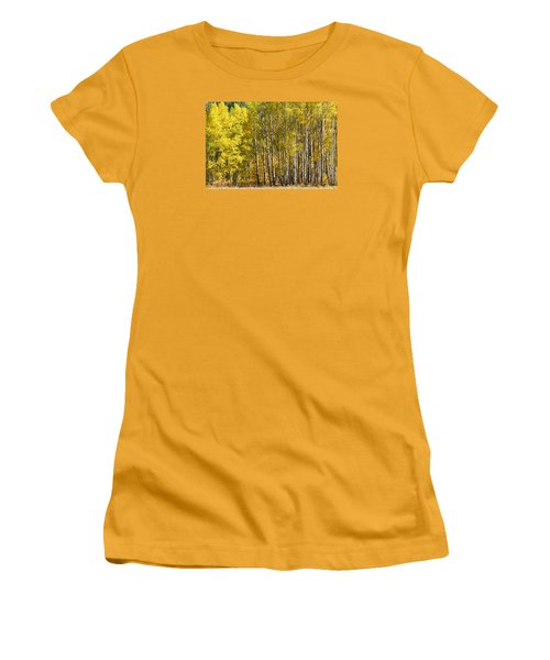 Golden Women's T-Shirt (Athletic Fit)