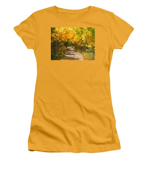 Golden Tunnel Women's T-Shirt (Athletic Fit)