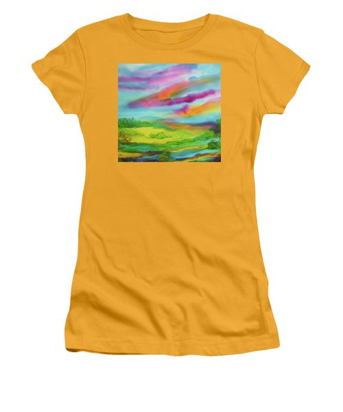 Escape From Reality Women's T-Shirt (Athletic Fit)