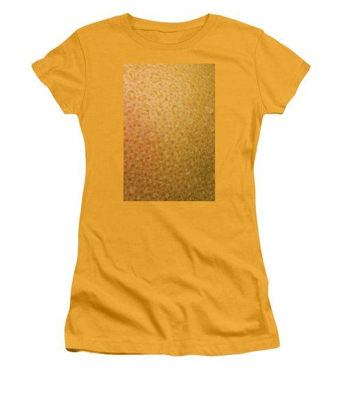 Grapefruit Skin Women's T-Shirt (Junior Cut) by Steve Gadomski