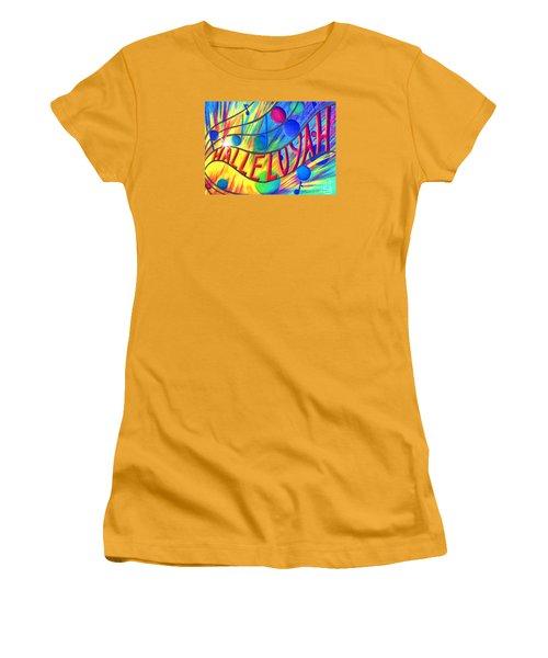 Halleluyah Women's T-Shirt (Athletic Fit)