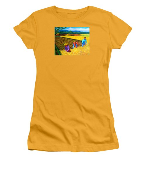 Harvest Season Women's T-Shirt (Athletic Fit)