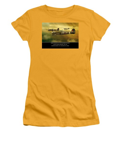 Hawker Typhoon Sqn 56 Women's T-Shirt (Athletic Fit)
