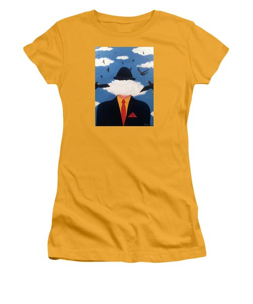 Head In The Cloud Women's T-Shirt (Junior Cut) by Thomas Blood