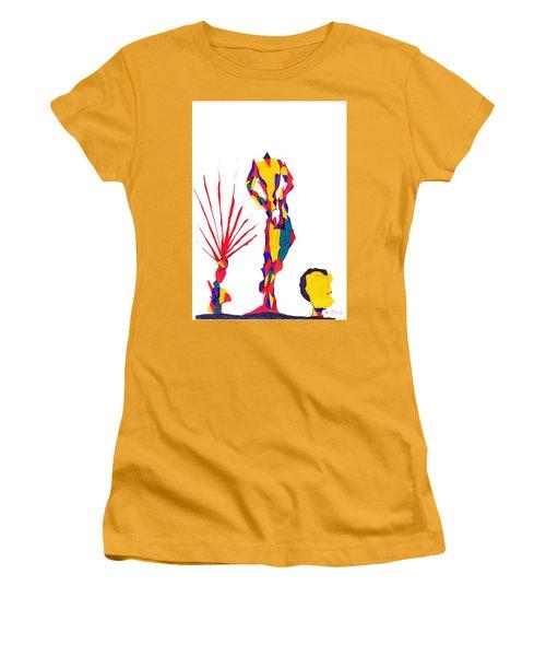 Headless Women's T-Shirt (Junior Cut) by Darrell Black