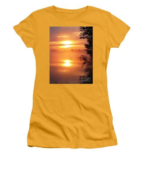 Heron Collection 2 Women's T-Shirt (Junior Cut) by Melissa Stoudt