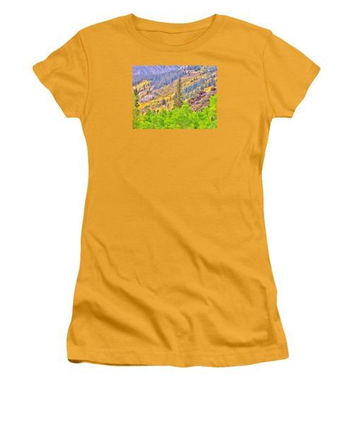 High Sierra Fall Colors Women's T-Shirt (Athletic Fit)