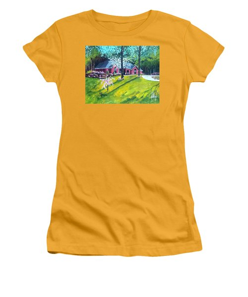 Home In Batesville, Ms Women's T-Shirt (Athletic Fit)